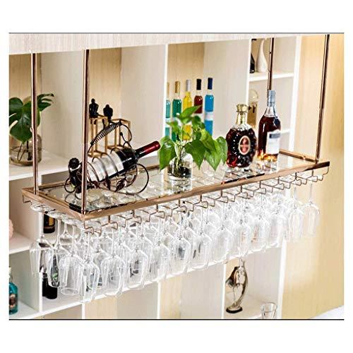 Al revés del vino del cubilete rack Hogar multifuncional vino estante de la barra de vino en rack de pared estante del vino sostenedor creativo del vidrio de vino del restaurante almacenamiento Estant