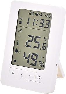 YIN YIN, Temperatura y medidor de Humedad, Temperatura Digital electrónico y la Humedad en casa termómetro Interior con Re...