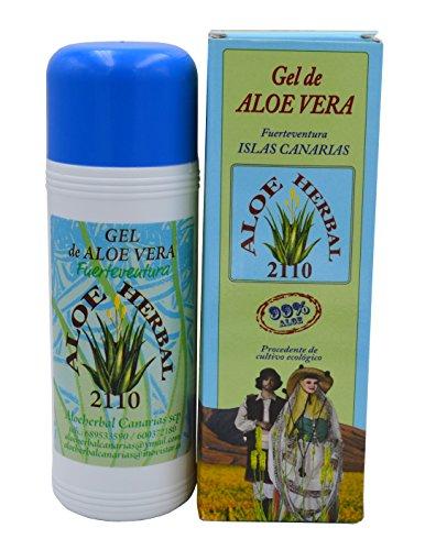 PURES ALOE GEL 99% kaltgepresst von Fuerteventura 250 ml