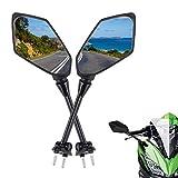Motorcycle Mirrors Rear View for Ninja 650R Mirrors 2009-2017 NINJA ER6F ER-6F...