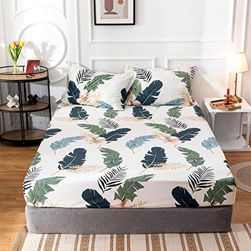 GTWOZNB King Size Microfiber Bed Sheets, Ultra Soft Silky Smooth and Wrinkle-Resistant Simple bedspread breathable three-dimensional-3_180cmx200cm