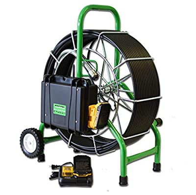 """SECON-Extreme 200' Mainline Cordless Color Sewer Camera Made in The USA by Sewer Equipment Company of Nevada Designed for 3""""-10"""" Pipe"""