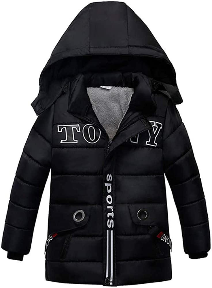 FIN86 Baby Kids Outfits,Fashion Kids Coat Boys Girls Thick Coat Padded Winter Jacket Clothes Daily wear