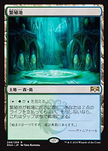 Magic : The Gathering MTG - Breeding Pool - 繁殖池 - Ravnica Allegiance RNA 246/273 日本語(Japanese)