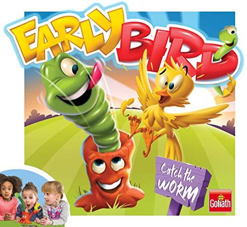 Goliath Games GL70007 Early Bird Spiel Fun Brettspiele für Kinder ab 4 Jahren, Multi