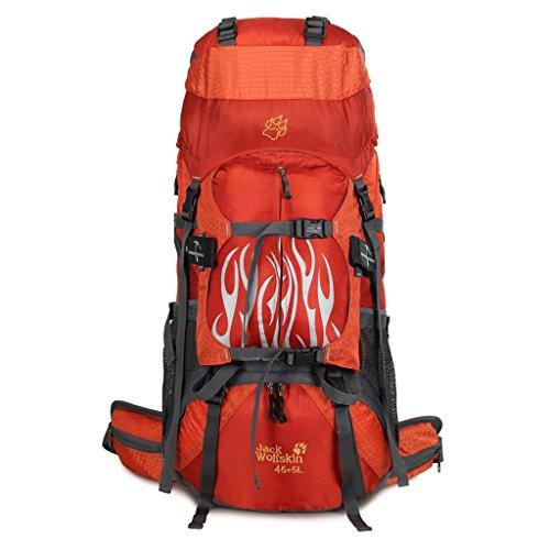 Sports de plein air de randonnée à dos de camping sac à dos d'alpinisme professionnel sac à dos de randonnée imperméable à l'eau