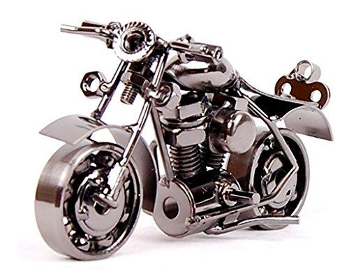 Junge Metall Motorrad Eisen Handwerk Weihnachten Geschenk, m37c Black