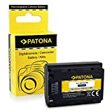 PATONA Bateria NP-FZ100 Compatible con Sony Alpha 9, Alpha 7RM3, 7M3, A7 R III, BC-QZ1
