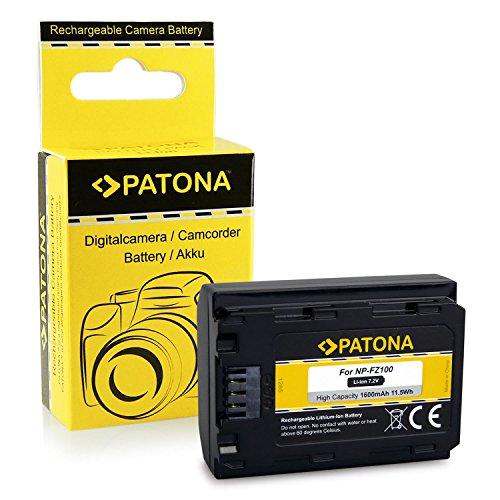 PATONA Bateria NP-FZ100 Compatible con Sony Alpha 9, Alpha 7RM3, 7M3, A7...