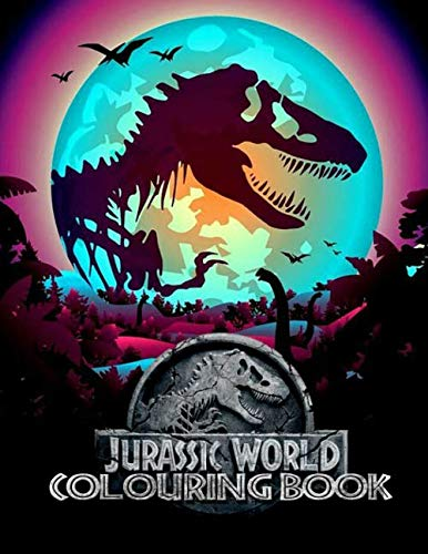 Jurassic World Colouring Books: Ultimate Color Wonder Jurassic World Colouring Book Pages & Markers, Mess Free Coloring, Wonderful Gift for Kids And Adults