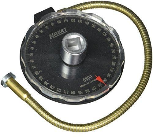 Hazet Clé de contrôle Angulaire 6690 Creux Carré Massif 12,5 mm (1/2 Pouce), Multicolore