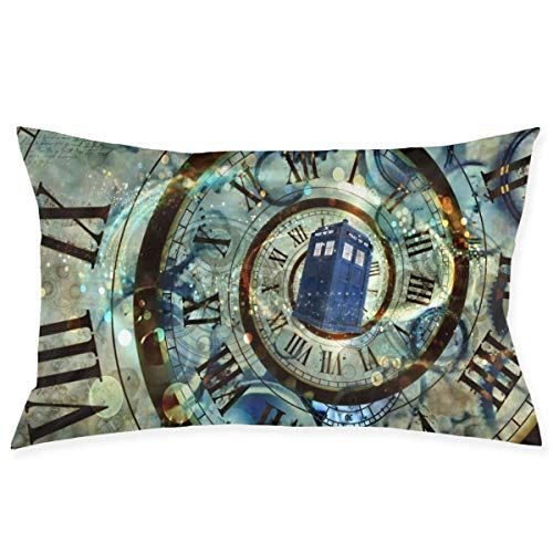 Doctor Dr Who Police Girls Boys Pillowcases Pillows Covers Cases Bedroom Decor Night Fury Face Decoration Rectangle Two Sides Printed 20x30 Inch