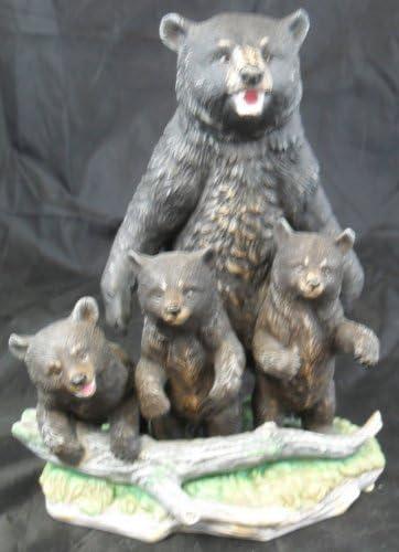 Bargain sale Maruri Black Bear Family - 1993 National Fashion Parks Collection NP-930