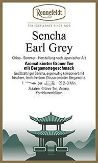 Ronnefeldt - Sencha Earl Grey - Aromatisierter Grüner Tee - 100g