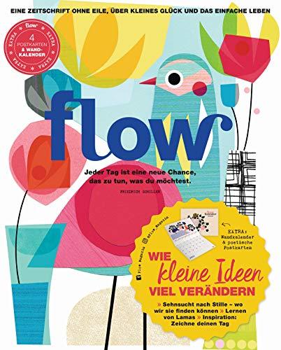 Flow Nummer 47 (1/2020): Eine Zeitschrift ohne Eile, über kleines Glück und das einfache Leben