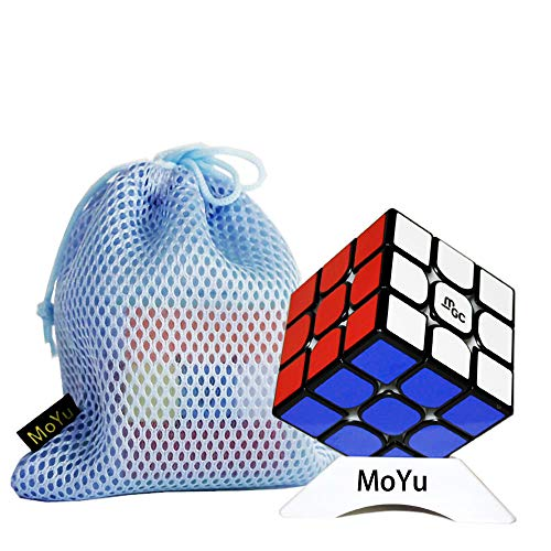 OJIN Yongjun YJ MGC Magnetico II 3x3 V2 M Cubo velocità YJ MGC V2 3 Strati Puzzle cubo 3x3x3 con Un treppiede cubo e Una Borsa cubo (Nero)