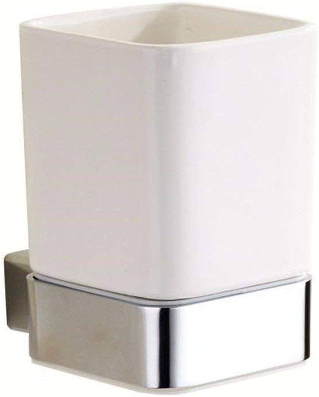 Contemporary European Silver Chrome Set Bathroom Accessories Door-soap Simple Hook,Single Cup
