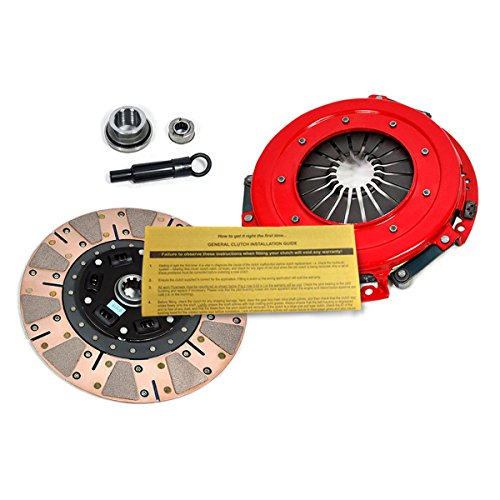 EFT STAGE 3 DUAL-FRICTION CLUTCH PRO-KIT WORKS WITH 1986-01 MUSTANG GT LX/SVT COBRA 8CYL