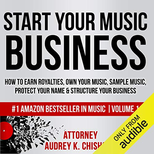 Start Your Music Business audiobook cover art