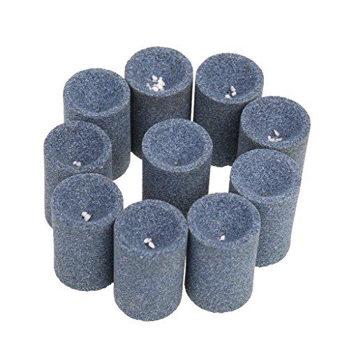 Baoblaze 10er-Set Schleifsteine Dart Point Spitzer