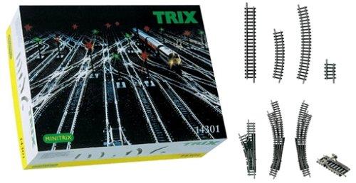 Trix 14301 - Gleis-Ergänzungs-Set, Minitrix
