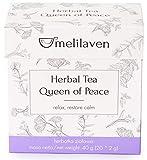 Té de Hierbas Melilaven con Melisa, Tilo, Verbena de Limón, y Flores de Lavanda (4 paquetes, 80 Bolsitas de Té)