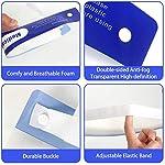 Pantalla Protector facial (Pack 10) Visera transparente ajustable ligero visión clara antivaho Caret... #1