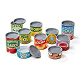 Melissa & Doug 4088 Let's Play House! Grocery Cans Play Food Kitchen Accessory