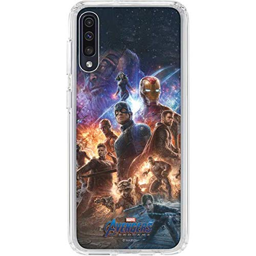 Skinit Clear Phone Case for Galaxy A50 - Officially Licensed Marvel/Disney Avengers Endgame Ready for Action Design