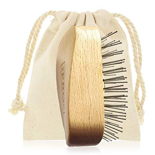 Cepillo para el cabello para un cabello más suave -