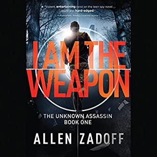 I Am the Weapon audiobook cover art