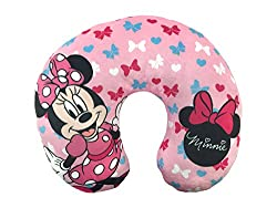Best Disney Travel Bags & Accessories featured by top US Disney blogger, Marcie and the Mouse: Minnie Mouse neck pillow
