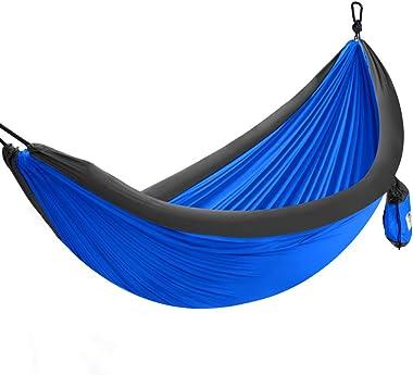 Forceatt Hamac de Camping en Plein air pour 1-2 Personnes, Tissu de Parachute en Nylon 210T à Haute Fibre, Charge maximale de