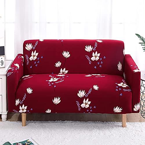 Funda elástica para sofá, Funda para sofá de Sala de Estar, Funda elástica para sofá, Funda para Muebles, Funda para sofá elástica, 1/2/3/4 plazas A22, 4 plazas