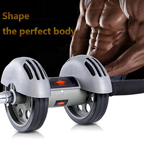 ZhongXin Robuste Dual Räder ab Roller Fitness Equipment Bauchmuskeln Carver ABS Trainer Outdoor Indoor Workout Maschine