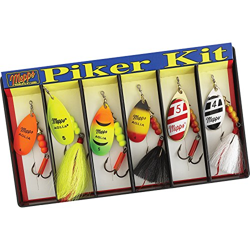 Mepps KHP5A #4 & #5 Aglia Assortment Piker Kit
