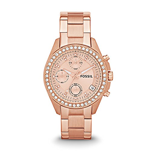 Fossil - Decker Chronograph Stainless Steel - Rose -: Watches