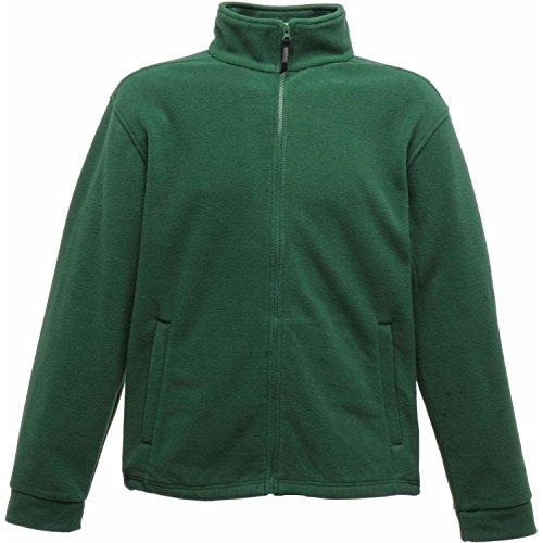 Regatta Polaire Homme zippée avec propriété de séchage Rapide Classic Fleece, Bottle Green, FR : 3XL (Taille Fabricant : XXXL)