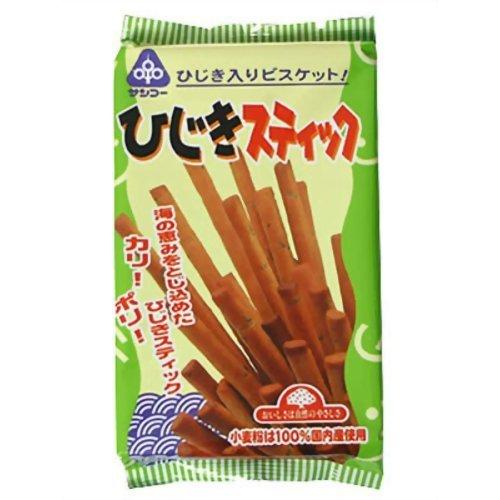 サンコー 国内産小麦粉100% ひじきスティック 115g ×10セット