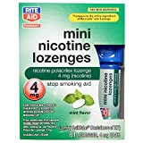 Rite Aid Mint Nicotine Lozenges, 4mg - 81 Lozenges | Quit Smoking Products