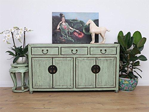 Antike Sideboard chinesische Kommode Ulmenholz 156x86x40 DJ1732