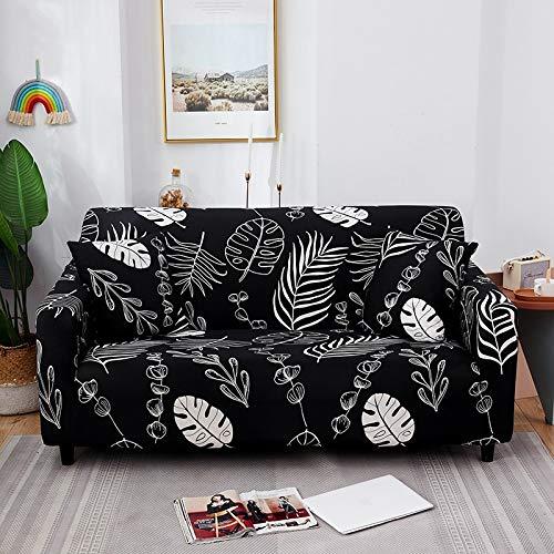 Fundas de sofá elásticas para Sala de Estar Funda elástica Funda de sofá seccional Funda de sillón en Forma de L A22 4 plazas