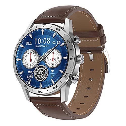 XYZK PPG ECG Smart Watch Wireless Cargar Bluetooth Call Music Player IP68 Contraseña Impermeable Reloj Inteligente para Android iOS,E