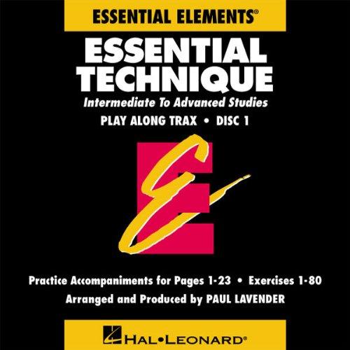 『Essential Technique Original Series: Play Along Trax (2-CD Set』のトップ画像