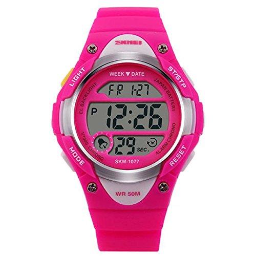 SKays LED Armbanduhr Digital Uhren Elektronische Sportuhr,Digitaluhr Sportuhren Jungen Mädchen LED Alarm Stoppuhr Armbanduhr