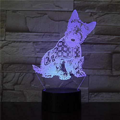 MRQXDP Acrylglazen lamp, gepersonaliseerd cadeau voor kinderen, werkt op batterijen, voor decoratieve led-nachtlampjes op bed
