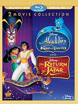 Disney The Return of Jafar and Deluxe Free shipping the Aladdin Thieves King