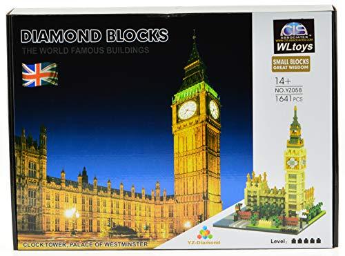 ICS Big Ben Micro Block Set with 1641 Bricks (CIS-YZ058)