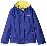 Columbia Arcadia Jacket Chaqueta Impermeable, Aislamiento térmico sintético Hi-Loft, Niña, Azul (Clematis Blue), XX-Small