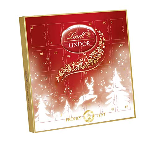 Lindt Lindor Mini-Adventskalender, 1er Pack (1 x 109 g)